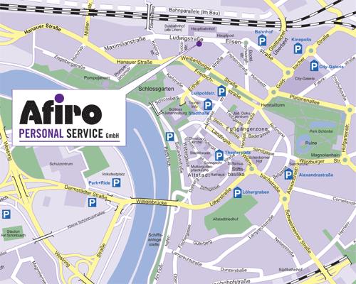 Afiro Anfahrtsweg